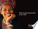Mainstreaming Gender at the GEF Book