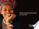 Mainstreaming Gender at the GEF