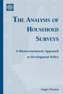 The Analysis of Household Surveys