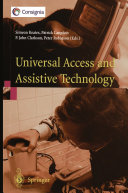 Universal Access and Assistive Technology