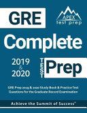 GRE Complete Test Prep