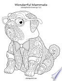 Wonderful Mammals Coloring Book for Grown Ups 1   2