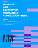 Gale Directory of Publications and Broadcast Media Supplement