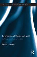 Environmental Politics in Egypt
