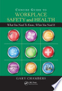 Concise Guide to Workplace Safety and Health