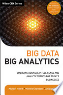 Big Data  Big Analytics Book