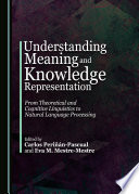 Understanding Meaning and Knowledge Representation