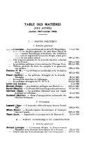 L'Annee politique, économique et coopérative, Revue des études coopératives, Res publica