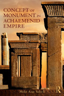 Pdf The Concept of Monument in Achaemenid Empire Telecharger