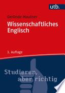 Wissenschaftliches Englisch