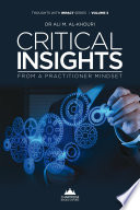 Critical Insights from a Practitioner Mindset Book