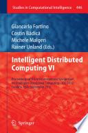Intelligent Distributed Computing VI