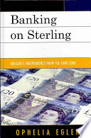 Banking on Sterling