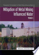 Mitigation of Metal Mining Influenced Water Book