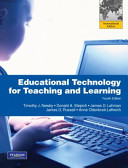Educational Technology for Teaching and Learning