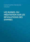 Pdf Les Ruines, ou méditation sur les révolutions des empires Telecharger