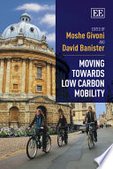 Moving Towards Low Carbon Mobility Book PDF