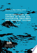 Instrumentation And Control Of Water And Wastewater Treatment And Transport Systems Book PDF