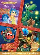 Disney Pixar Christmas Happy Holidays