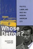 Whose Detroit