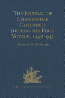 The Journal of Christopher Columbus (during his First Voyage, 1492-93) Pdf/ePub eBook