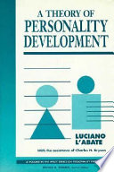 A Theory of Personality Development Book