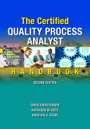 The Certified Quality Process Analyst Handbook, Second Edition [Pdf/ePub] eBook