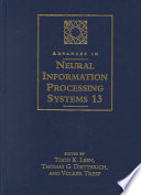 Advances in Neural Information Processing Systems 13
