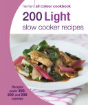Hamlyn All Colour Cookery  200 Light Slow Cooker Recipes