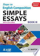 Step To English Composition Simple Essays Book 3