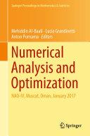 Numerical Analysis and Optimization
