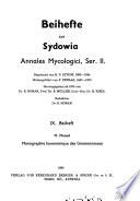 Sydowia; annales mycologici