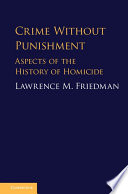 Crime Without Punishment Book