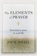 The Elements of Prayer Pdf/ePub eBook