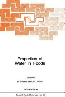 Properties of Water in Foods