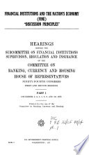 Financial Institutions and the Nation's Economy (FINE): Dec. 2-10, 1975