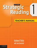Strategic Reading Level 1 Teacher s Manual