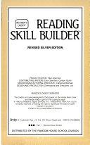 Reading Skills Builder Level 3, Part 1