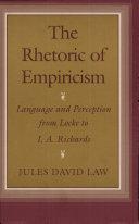 Pdf The Rhetoric of Empiricism