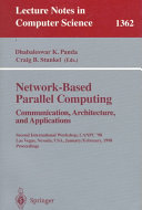 Network Based Parallel Computing  Communication  Architecture  and Applications