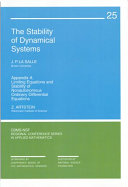 The Stability of Dynamical Systems