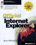 Official Microsoft Internet Explorer 4 Book