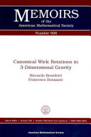 Canonical Wick Rotations in 3-dimensional Gravity Pdf/ePub eBook