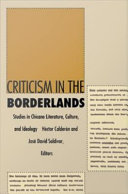 Criticism in the Borderlands ebook