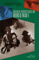 Critical Perspectives on World War I