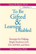 To be Gifted   Learning Disabled