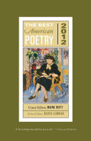 Pdf The Best American Poetry 2012 Telecharger