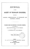 Journal of the Society of Telegraph Engineers