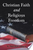Christian Faith   Religious Freedom