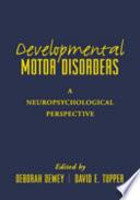 Developmental Motor Disorders Book PDF